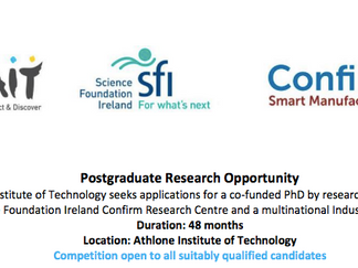 PhD Scholarship in Self Conformable End of Arm Robotic Tooling for International Candidates