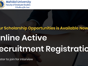 Online Active Recruitment from Mahidol University