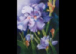 Purple Iris Finished Painting.jpg