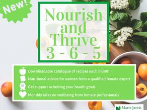 Nourish and Thrive 3-6-5™