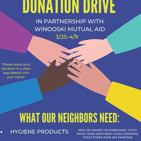 LRY Donation Drive