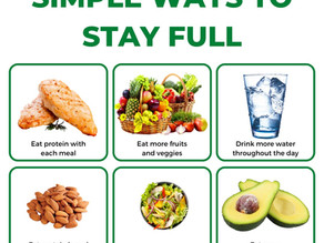 Six Simple Ways to Stay Full
