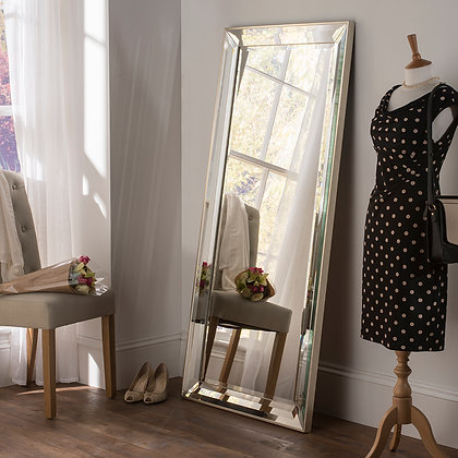 Contemporary Leaner Wall Mirror