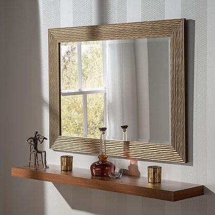 Wavey Rectangular Mirror
