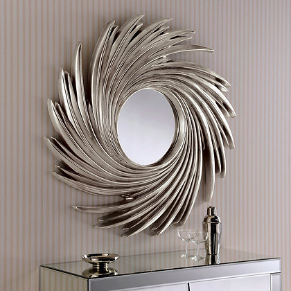 Swirl Contemporary Wall Mirror