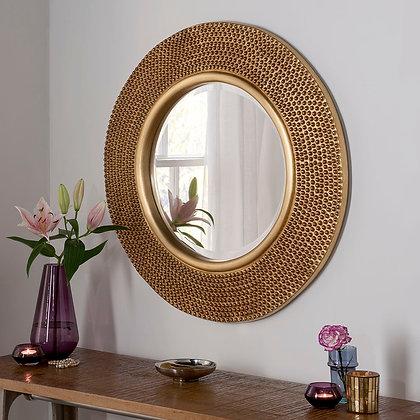 Studded Contemporary Mirror