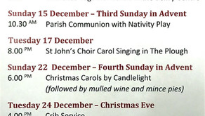 Advent & Christmas Services 2019