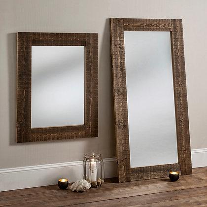 Rustic Reclaimed Pine Mirror