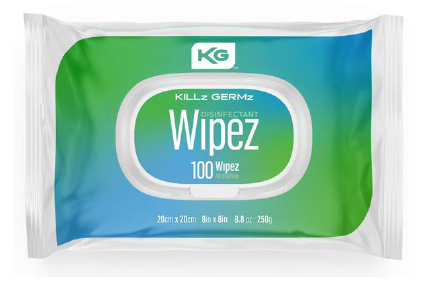 KILLz GERMz™ Disinfectant Wipez – 100 Pack