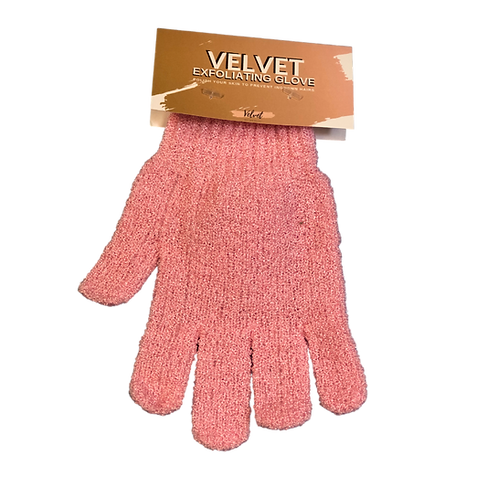 Velvet Exfoliator Glove