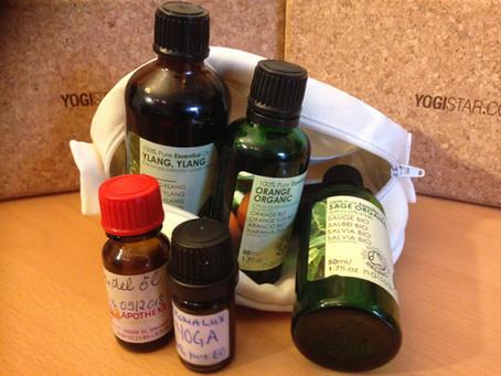 Choosing aromatherapy oils