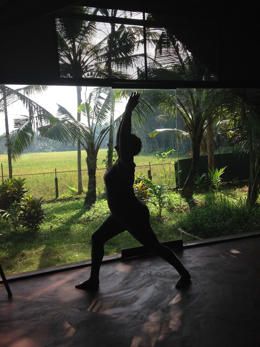 Yoga at HInterland Village, Kerala