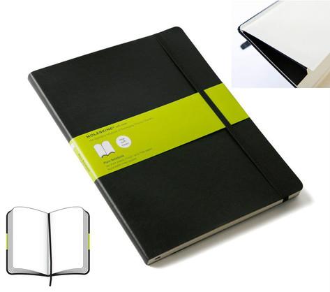 Plain Soft Notebook - Extra Large