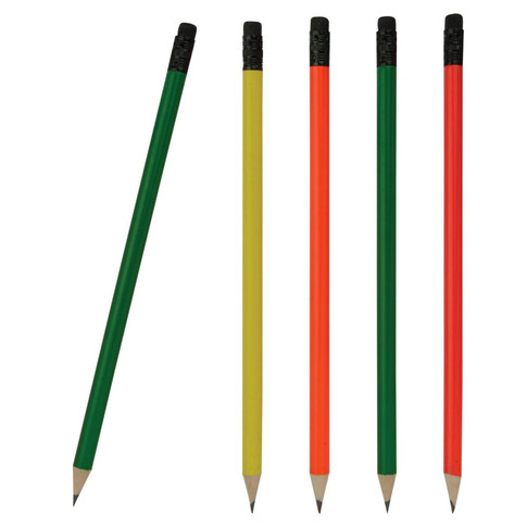 IL1391 Yuvarlak Silgili Fosforlu Kurşun Kalem