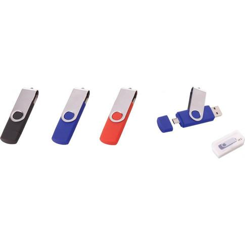 Döner kapaklı OTG Özellikli USB bellek