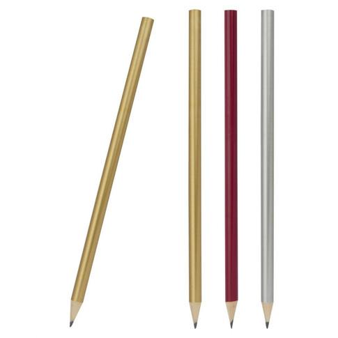 IL1390 Yuvarlak Metalik Boyalı Kurşun Kalem