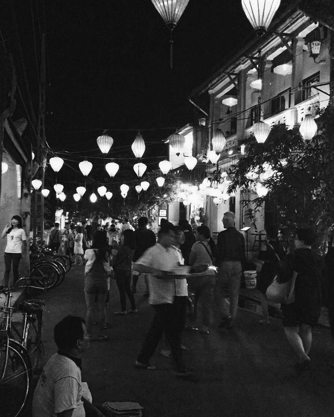 La ville d'Hôi An au Vietnam (via @axmasse)