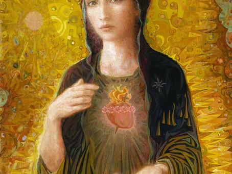 Immaculate Heart of Mary   Corazón Inmaculado de María