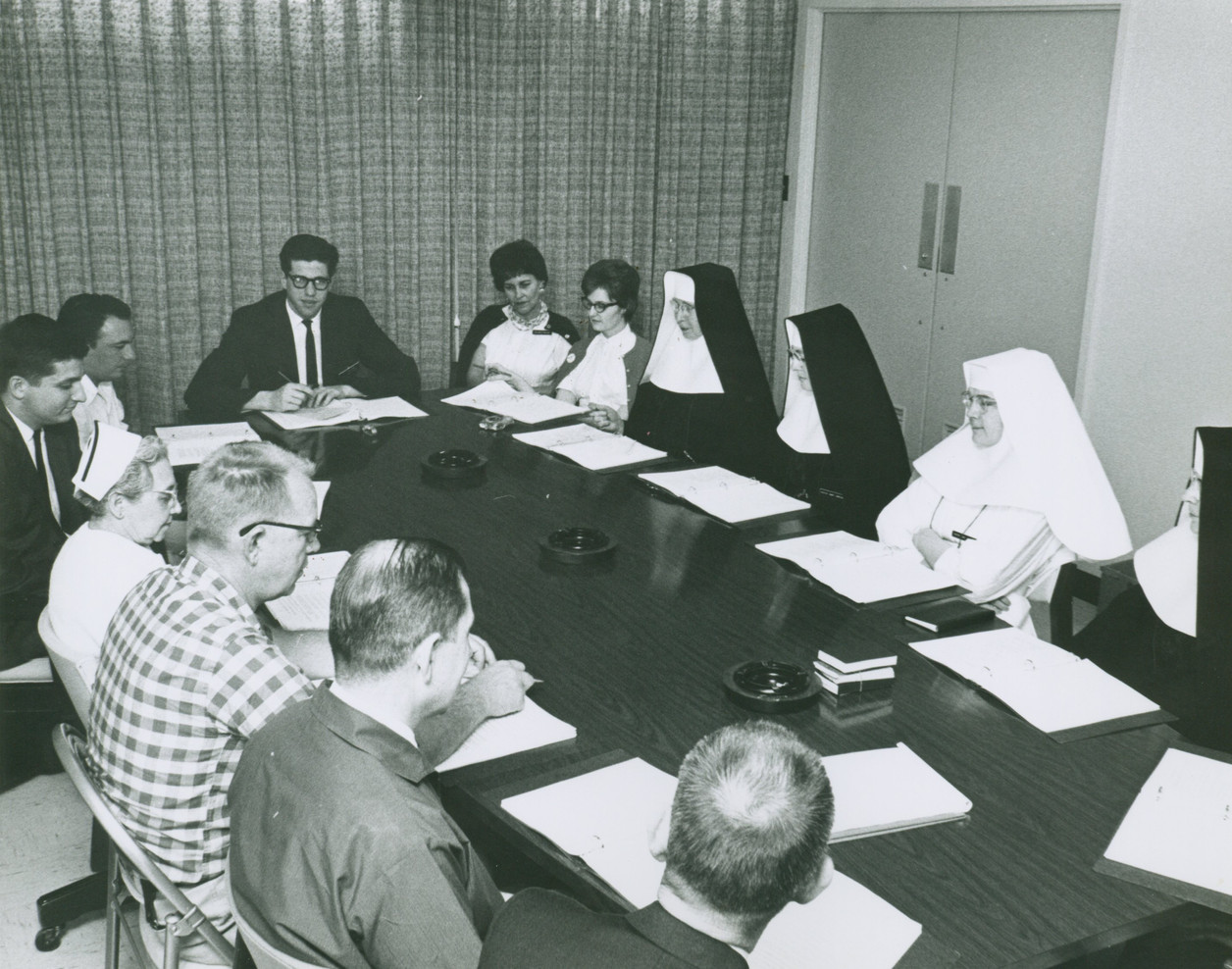 From the very beginning, Sisters have worked closely with lay professionals, beginning with doctors with whom they worked side-by-side at the Santa Rosa Infirmary when it was established in 1869.