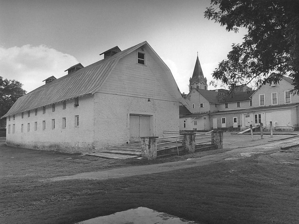 The barn located at the Motherhouse was the center for farming activity carried on through the 1950s. In 1991, the structure was restored for use as the Center for Spirituality and the Arts.