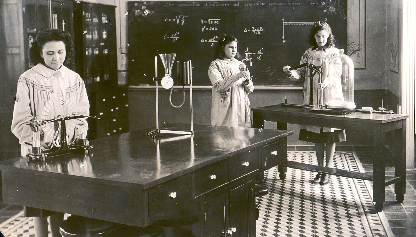 Sr. María Gabriela founded the Instituto Hispano Inglés, where girls received an education in the arts and sciences in addition to religious studies. Sr. María Gabriela encouraged Incarnate Word Sisters to pursue professional education and development in teaching. She founded the Normal (Teachers College) del Instituto Miguel Ángel in 1950.