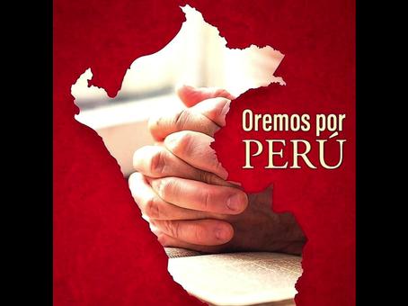 Oremos por Perú | Let us pray for Perú