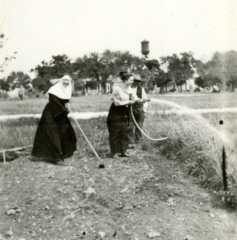 In the 19th and early 20th centuries, Sisters grew vegetables and had milk cows.