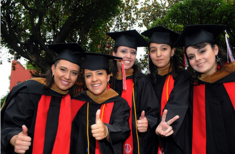 The University of the Incarnate Word now has two campuses in Mexico, Centro Universitaro México, in Mexico City, and Universidad Incarnate Word in Irapuato (Guanajuato).  Photo of graduates in Mexico City, 2012.