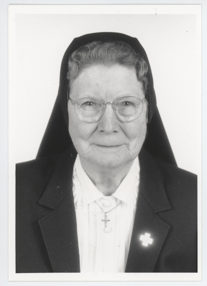 Incarnate Word Sisters have a long tradition of service in St. Louis. Sr. Felician Borgmeyer (1917–2011) spent most of her ministerial years in St. Louis as a cook, housekeeper, childcare worker, and hospital chaplain at Incarnate Word Hospital. After she retired from active ministry, she spent her nights in the hospital, sitting and praying with the dying.