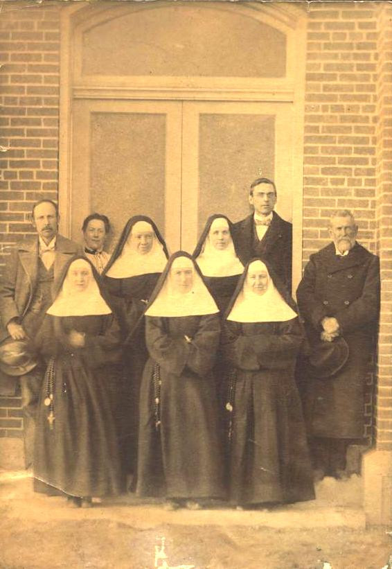 Sisters and committed and concerned laity have always worked together on boards and committees.
