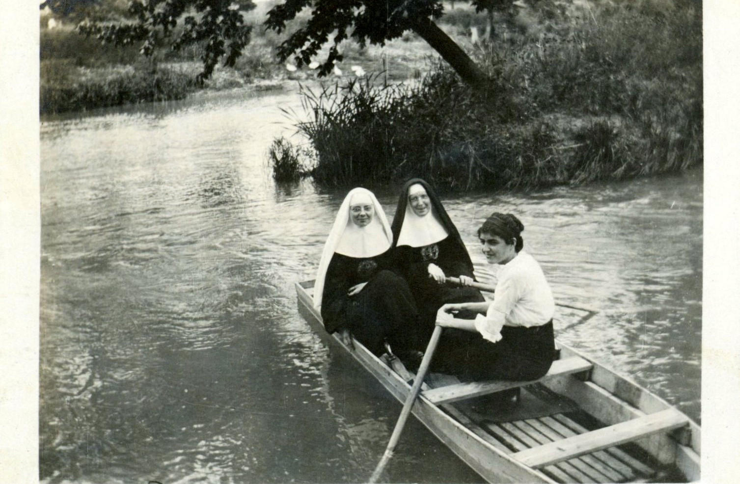 The headwaters of the San Antonio start their journey on the Congregation's property. In 2008, the Sisters set aside 53 acres of congregation land from their original property purchased in 1897 and created the Headwaters Coalition, a ministry dedicated to Earth care and to living in right relationship with God's creation.