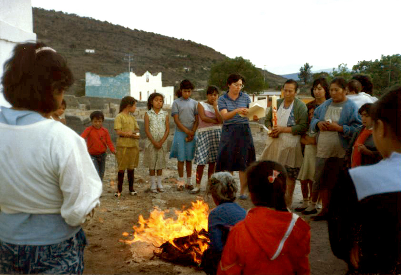 Since 1973, more than 100 Sisters from Mexico have created and worked in numerous pastoral communities in Mexico. They assist the indigenous, displaced, and underserved.