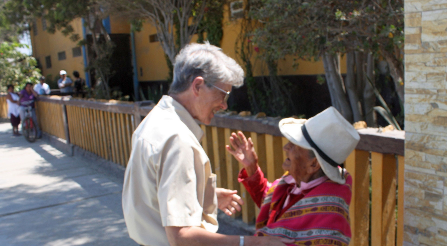 """After serving as a nurse, in hospital administration, and as a congregational leader, Sr. Juanita Albracht felt called to work with the Peruvian people. She was inspired by how """"they could be happy in such extreme poverty. This called me to want to experience their lives with them."""""""
