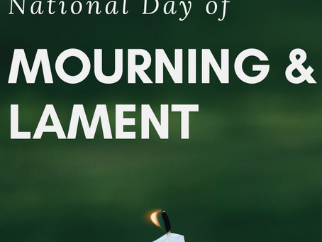 Call to Mourning and Lament