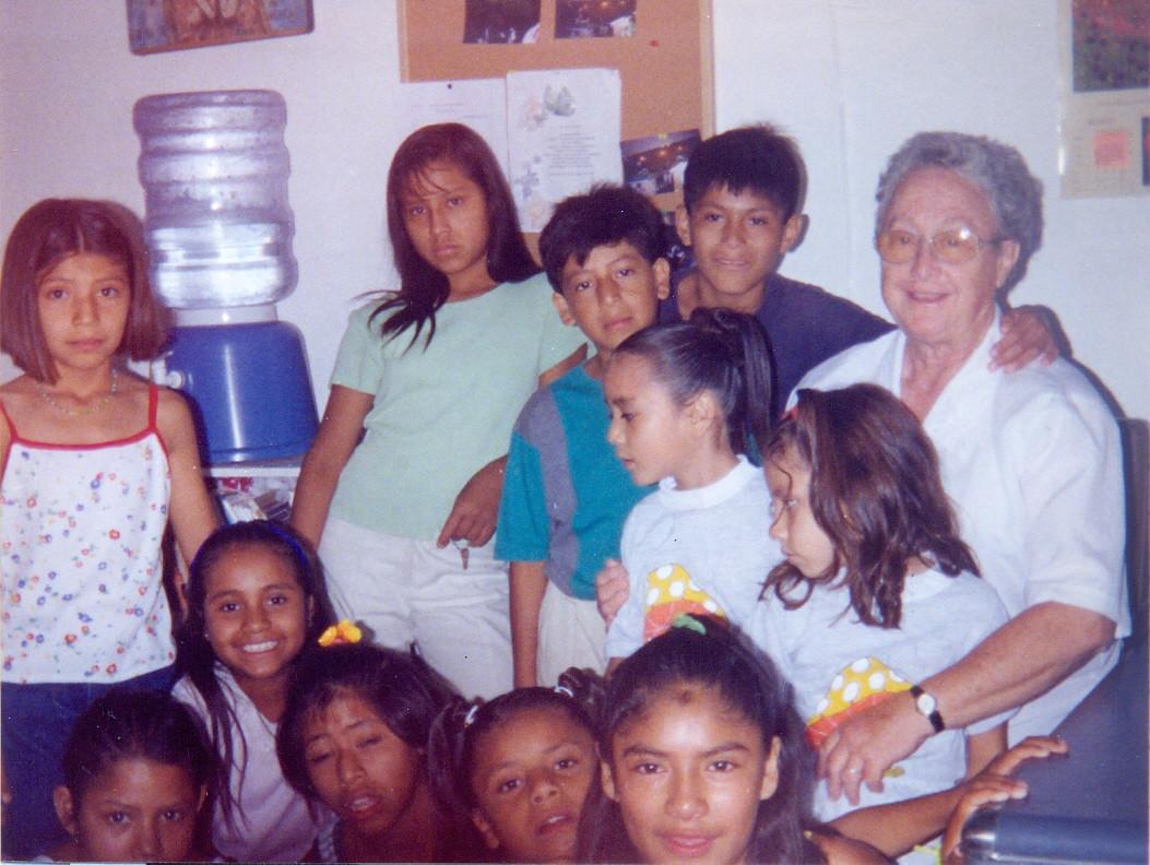 Sister Elizabeth Murray Campbell worked in Cuernevaca, Mexico, with Nuestros Pequeños Hermanos.