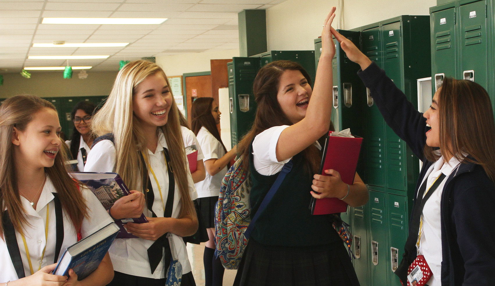 Incarnate Word High School continues to flourish as an institution for young women, educating them with the values of diversity, personal integrity, academic excellence, and stewardship of gifts.