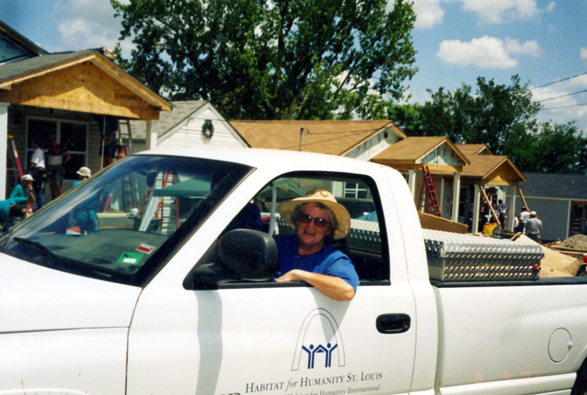 Sr. Mary Kay McKenzie worked for Habitat for Humanity in St. Louis for almost 15 years, first as a volunteer, and later full time, as a construction supervisor.
