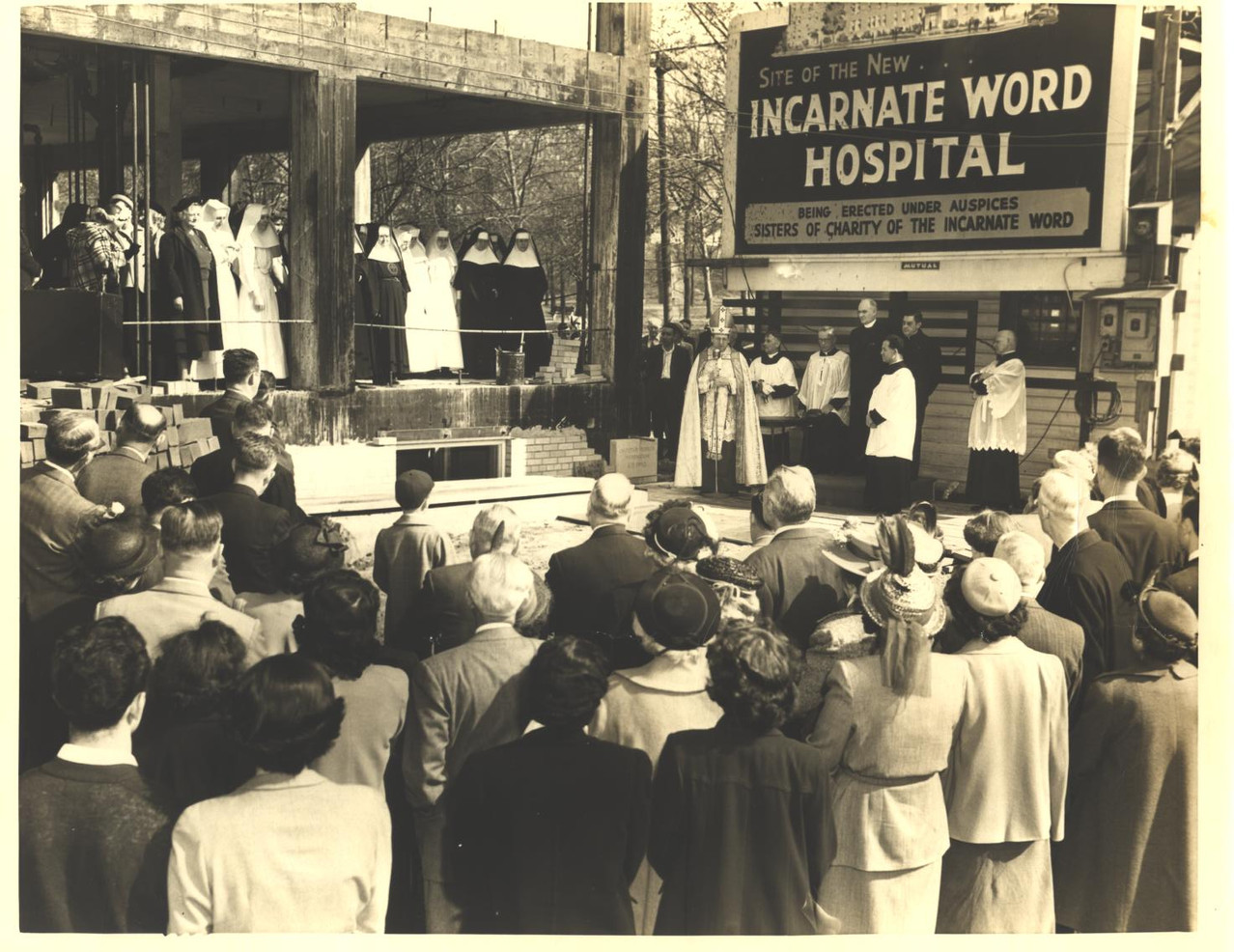 Incarnate Word Hospital in St. Louis began as the Josephine Heitkamp Hospital in 1900. It continued as a privately operated hospital until 1933 when the Sisters took charge of the hospital. The hospital and the Sisters served the South City of St. Louis until the hospital was sold in 1997.