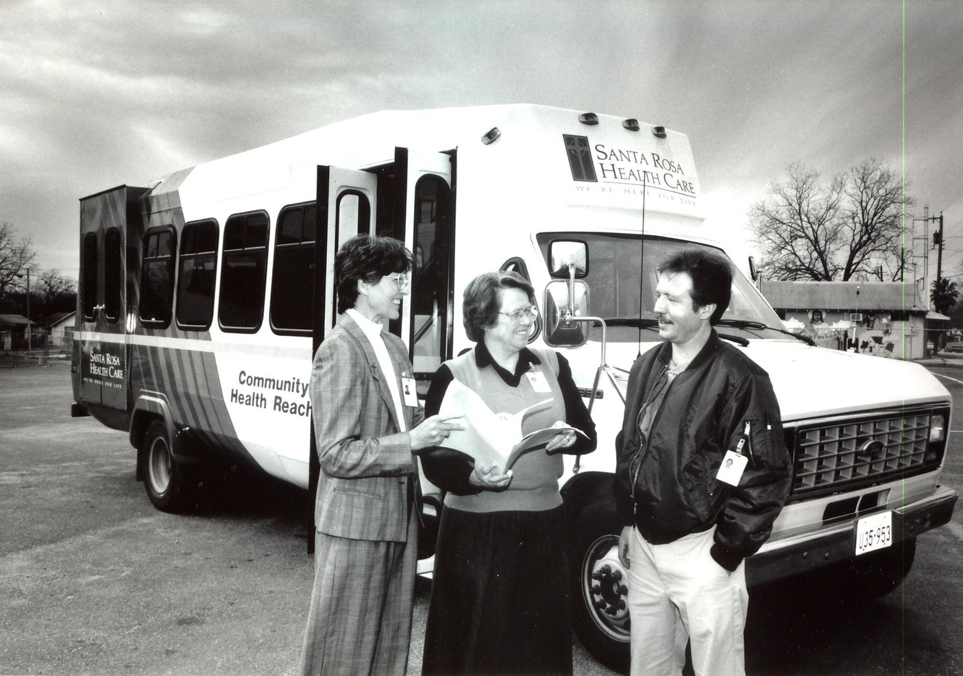 In 1993, Sisters Juanita Albracht and Lauren Moynahan (pictured) started Community Healthwatch Program to provide basic care for medically underserved areas of the west side of San Antonio.