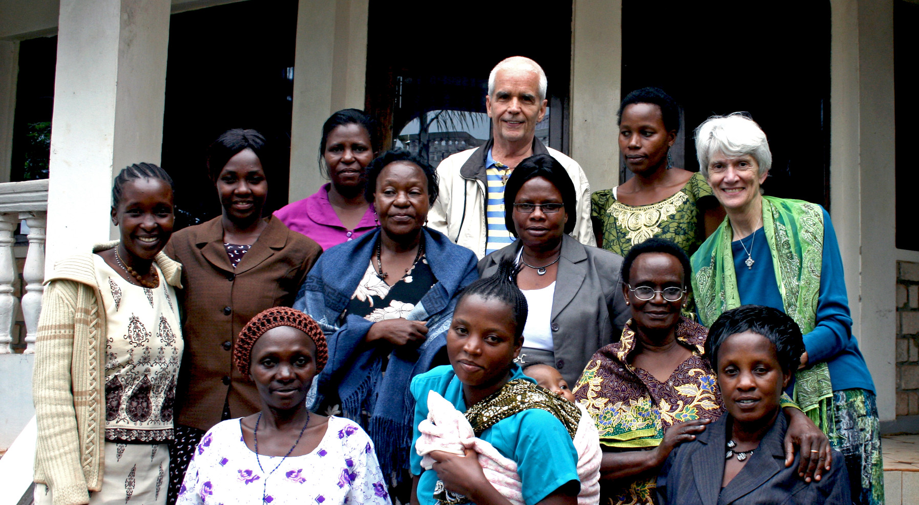 Women's Global Connection was founded by Sisters Dorothy Ettling and Neomi Hayes. Women's Global Connection strengthens families and communities and works for transformative change. The organization fosters innovative partnerships that support projects linking women and girls to education, technology, and business opportunities. (co-founder, Sr. Dorothy Ettling, far right)