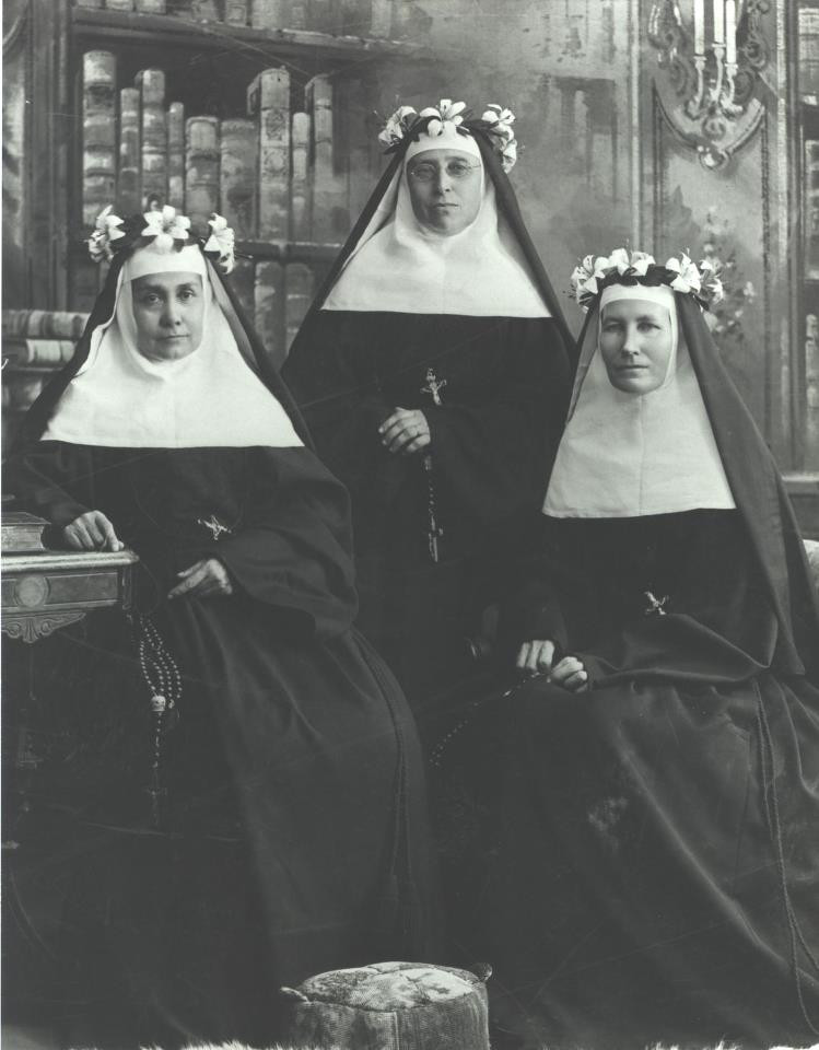 """Jubilees are celebrations much like anniversaries, marking the number of years a Sister is """"professed."""" Jubilees mark 25, 50, 60, and 75 years of commitment to God and the Congregation. Pictured are the first Silver (25 year) Jubilarians."""