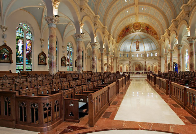 Interior Chapel of the Incarnate Word