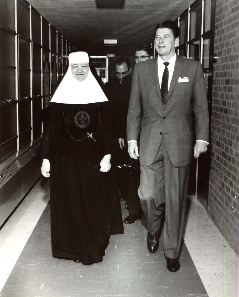 In the 1960s, Santa Rosa Hospital in San Antonio was the largest Catholic hospital in the nation. Sr. Mary Vincent O'Donnell (1907–1998) served as its administrator from 1959 to 1966. She oversaw expansion of the hospital, including the addition of the Children's Hospital in 1959. During her tenure, the decision was made that Santa Rosa would remain downtown, reaffirming the hospital's mission to serve those most in need.