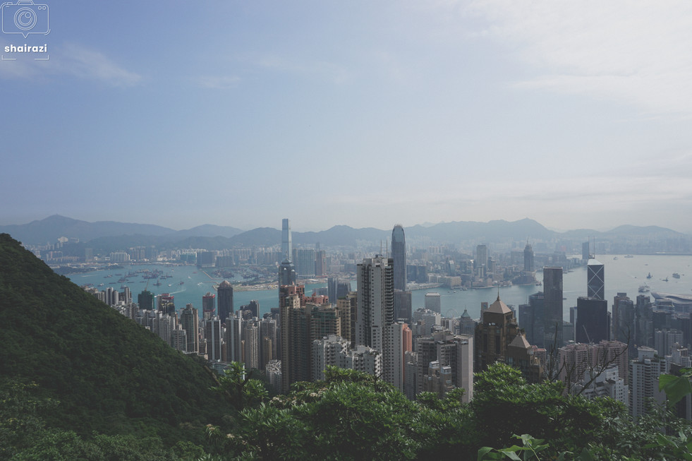 Hong Kong - City View From The Mountains