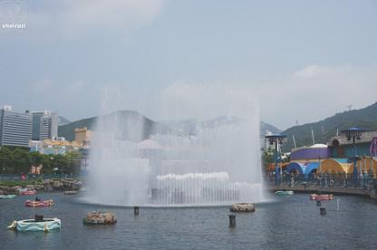 Hong Kong - Water Fountain