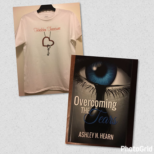 Hidden Treasure T-Shirt and Book Package