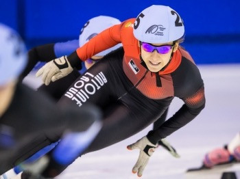 Jesse Keca, National selections, short track speed skating 2014