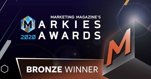 Markies 2020 - Most Creative Event - Bronze Winner