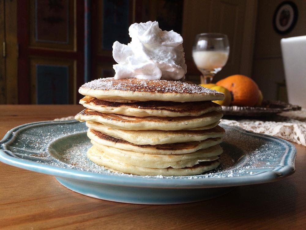 Fluffly Buttermilk Pancakes