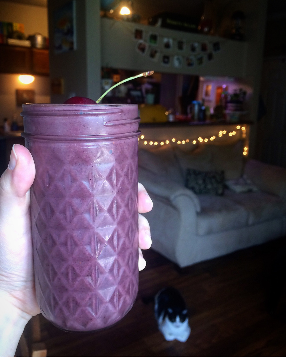 Purple Protein Smoothie